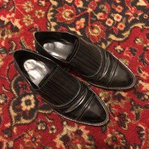 Alexander Wang Black Leather Brogues